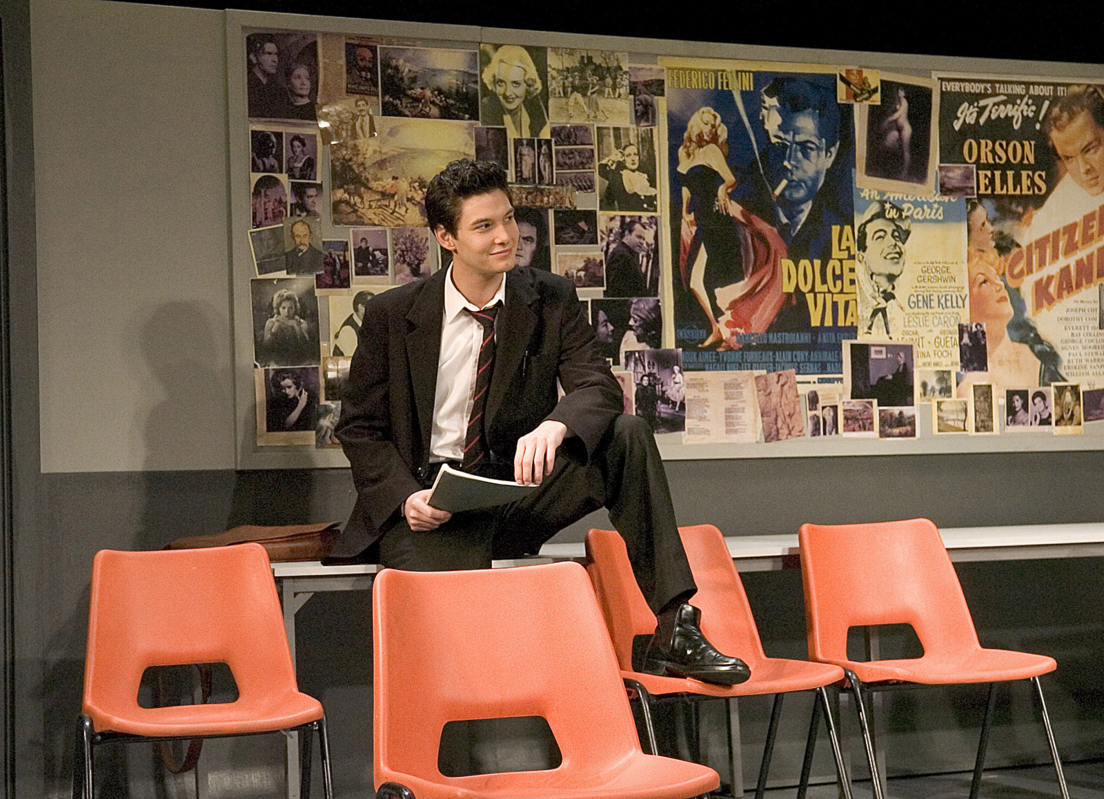 history boys An unruly bunch of bright, funny sixth-form boys in pursuit of sex, sport and a place at university a maverick english teacher at odds with the young and shrewd supply teacher a headmaster obsessed with results a history teacher who thinks he's a fool in alan bennett's classic play, staff room .